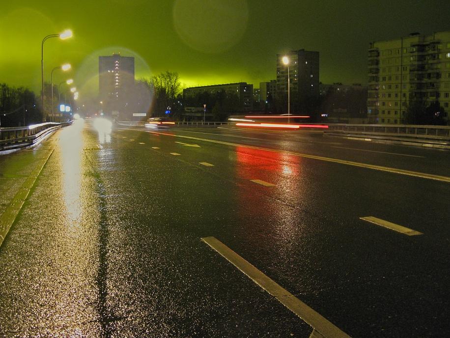 """фото """"Wet-wet-wet..."""" метки: пейзаж, город, ночь"""