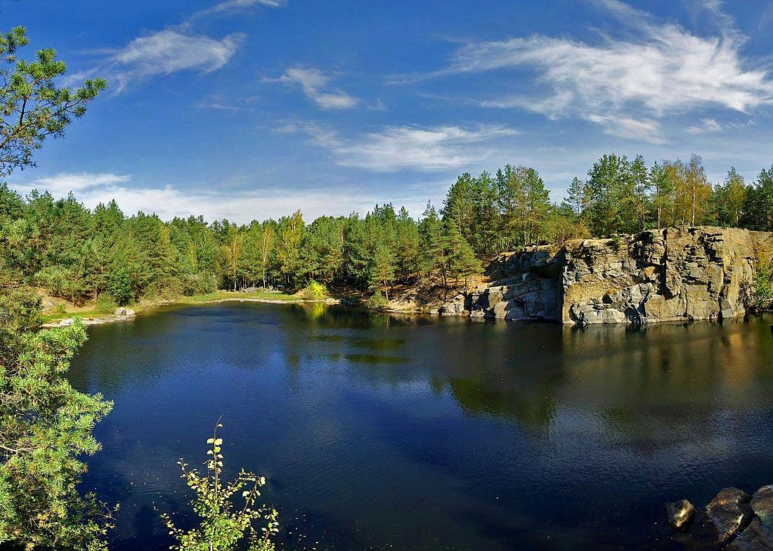 "фото ""На озере"" метки: пейзаж, вода"