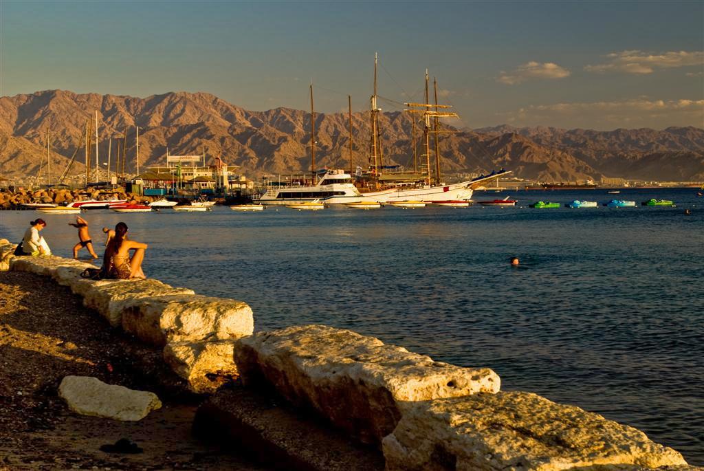 "фото ""Тихий вечер на Красном море"" метки: пейзаж, закат"