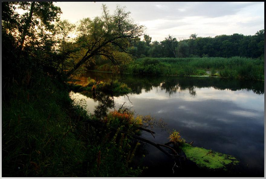 "фото ""Вечер на Донце"" метки: пейзаж, вода, закат"