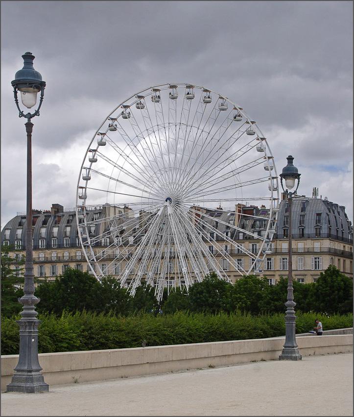 """фото """"Парижские фонарики"""" метки: архитектура, путешествия, пейзаж, Европа"""