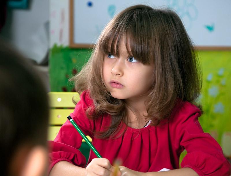 """фото """"Трудное задание"""" метки: портрет, жанр, дети"""