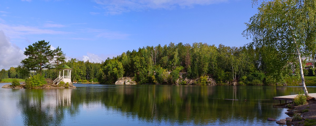 "фото ""Озеро Ая"" метки: пейзаж, вода"
