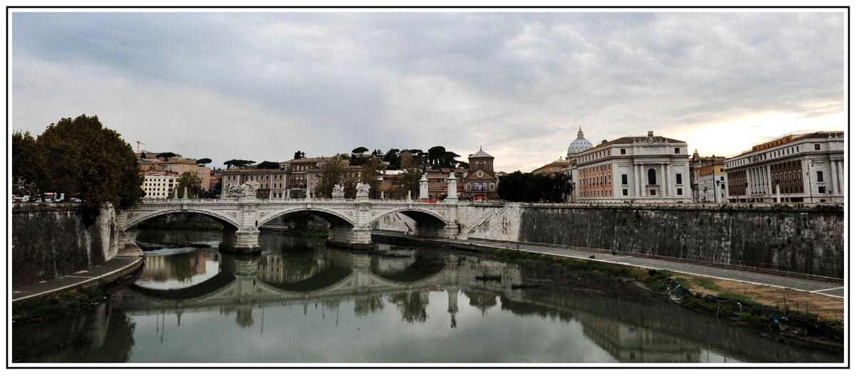 """фото """"Ponte Vittorio Emanuele II"""" метки: путешествия, Европа"""
