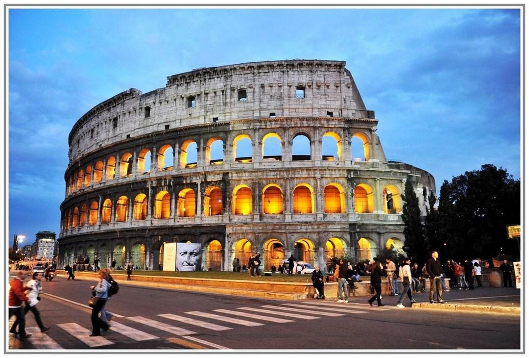 "фото ""Переход к Колизею"" метки: путешествия, Европа"