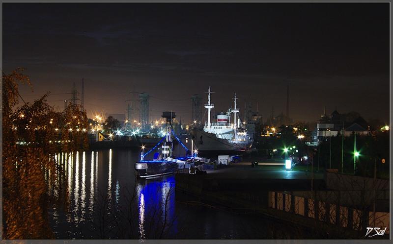 "фото ""Вечерние огни Калининграда"" метки: город,"