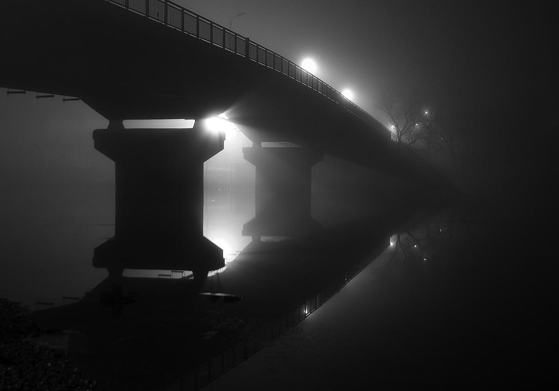 """фото """"Ушедшим в туман"""" метки: пейзаж, вода, осень"""