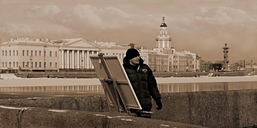 """фото """"город творческих людей"""" метки: пейзаж, город, зима"""