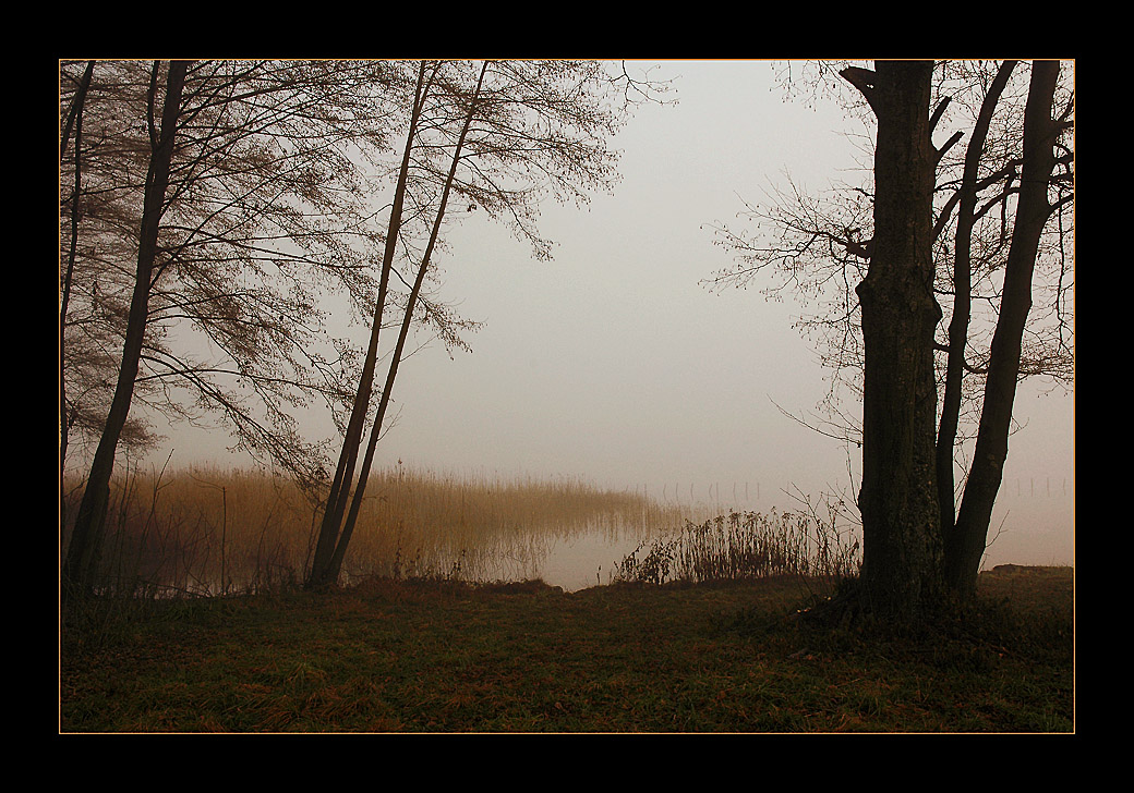"фото ""The Thing and The Lake"" метки: пейзаж, вода, осень"