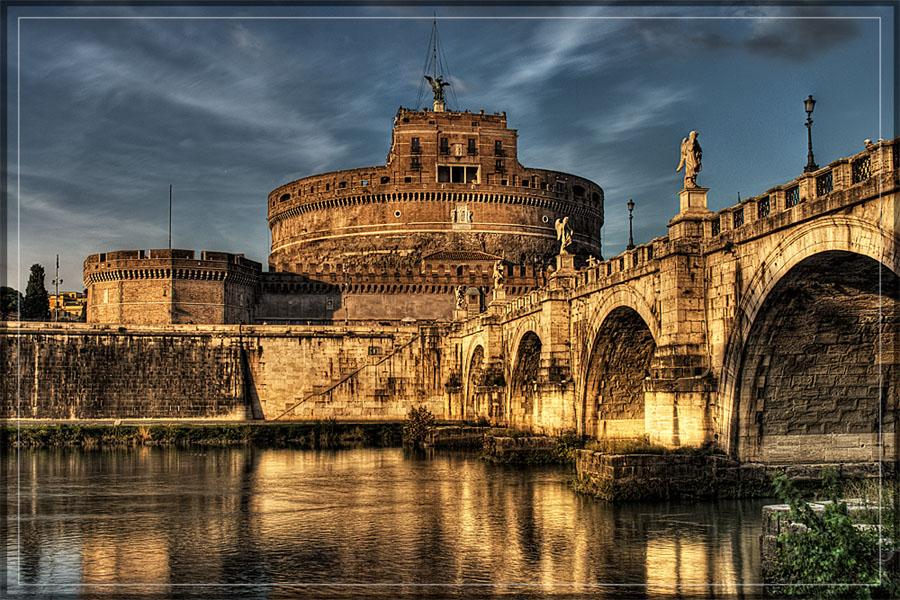 "фото ""Castel Sant'Angelo - Roma"" метки: архитектура, пейзаж,"