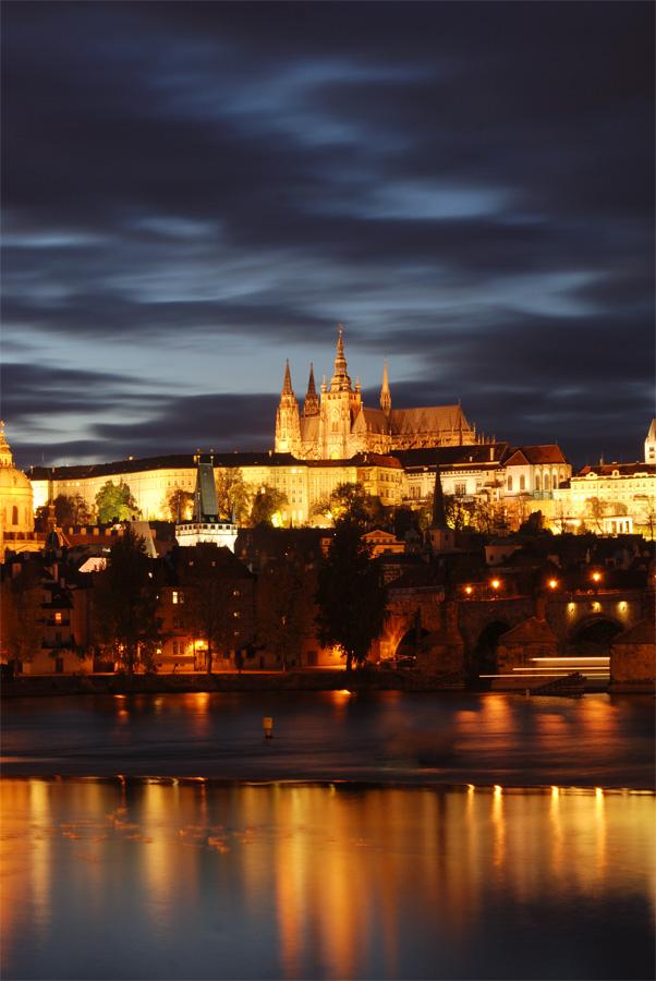 """фото """"Ночная Прага"""" метки: путешествия, архитектура, пейзаж, Европа"""