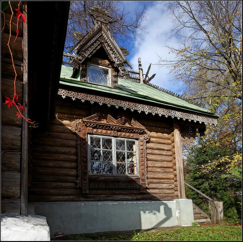 "фото ""Абрамцево"" метки: архитектура, пейзаж, осень"