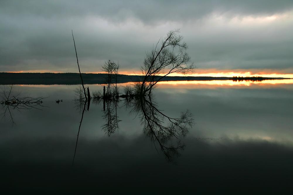 """фото """"Вечерний штиль"""" метки: пейзаж, осень"""