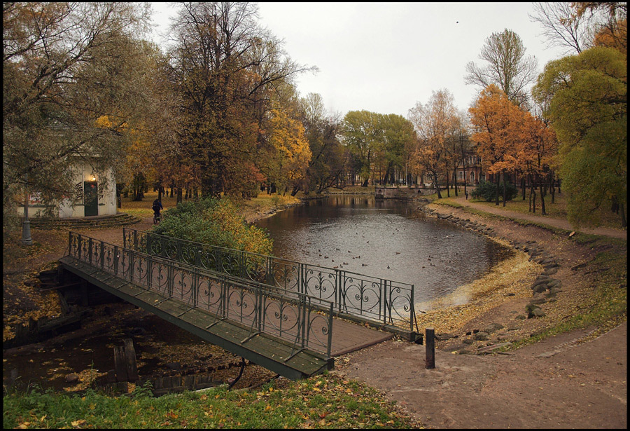 "фото ""Лопухинский сад. Осень."" метки: пейзаж, осень"