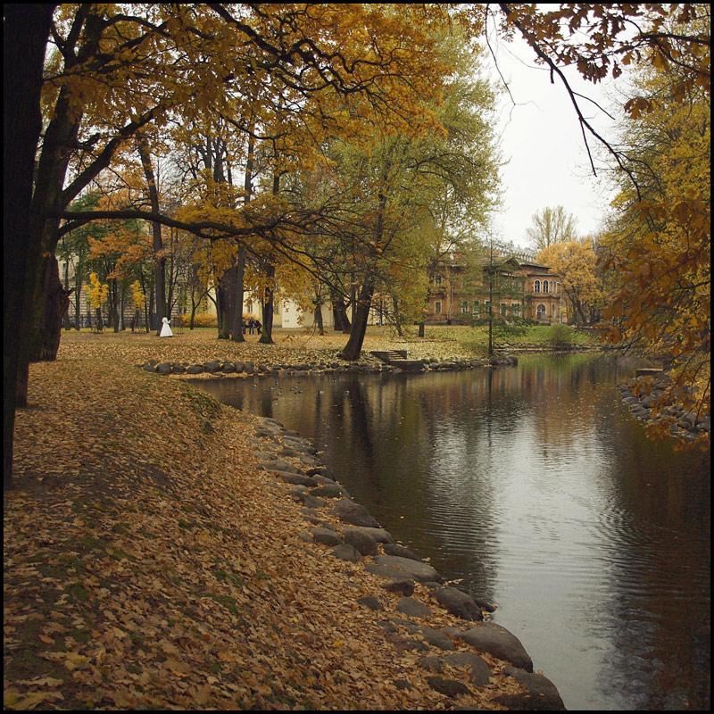 """фото """"прогулка в осеннем парке"""" метки: пейзаж, осень"""