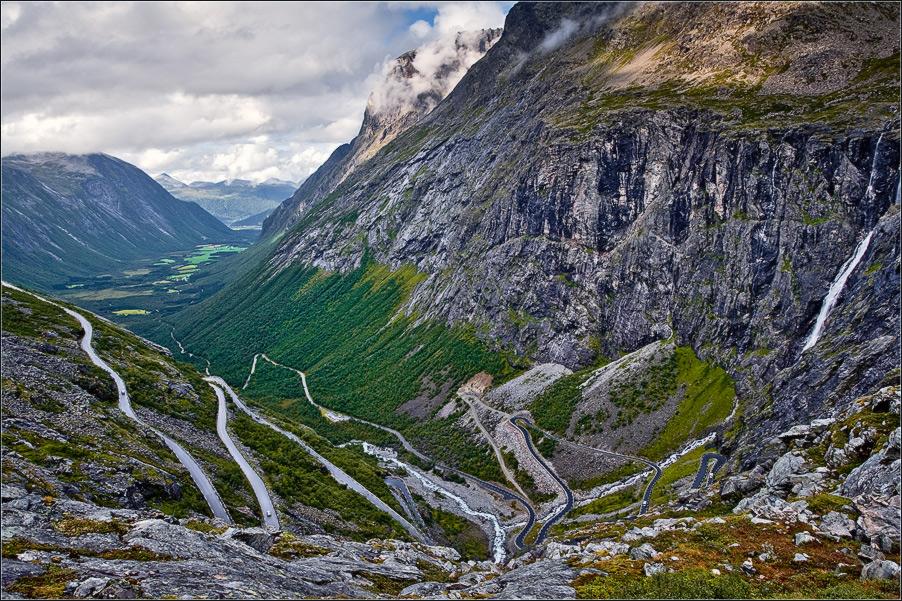 """фото """"Trollstigen"""" метки: пейзаж, путешествия, Европа"""