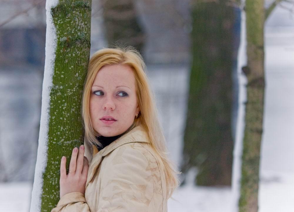 """фото """"ну вот и зима"""" метки: портрет, женщина"""