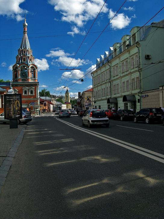 """фото """"Улица Большая Полянка"""" метки: архитектура, город, пейзаж,"""