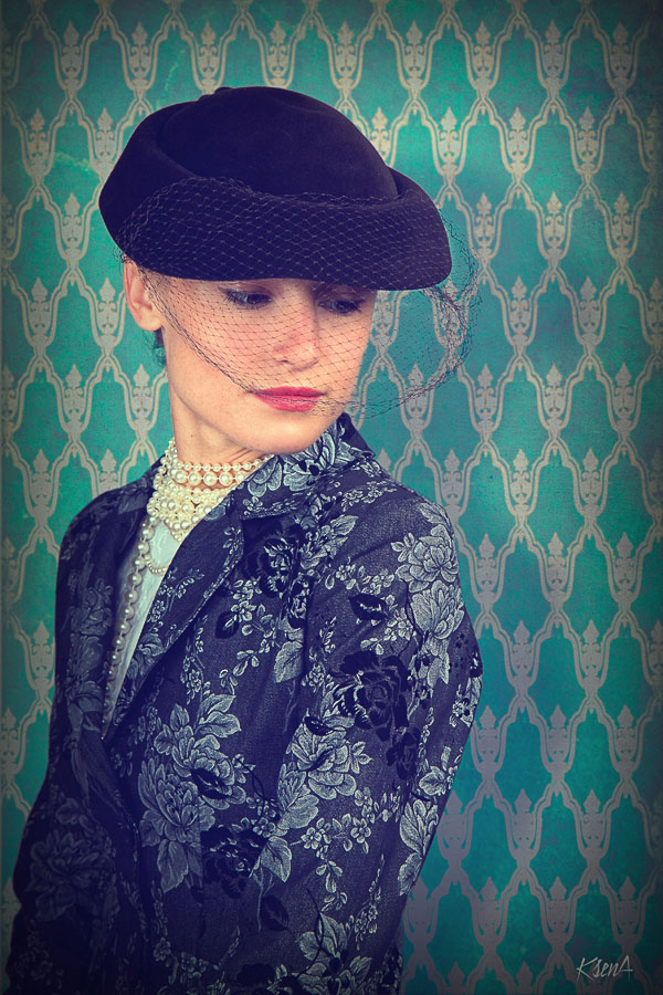 """фото """"Портрет молодой дамы"""" метки: портрет, ретро, женщина"""
