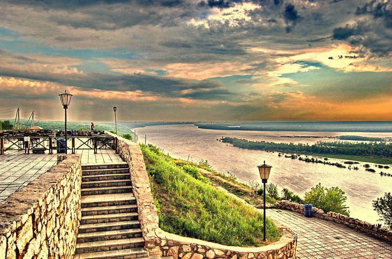 "фото ""Волга"" метки: пейзаж, вода"