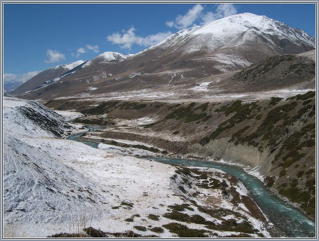 """фото """"Печать зимы"""" метки: пейзаж, горы"""