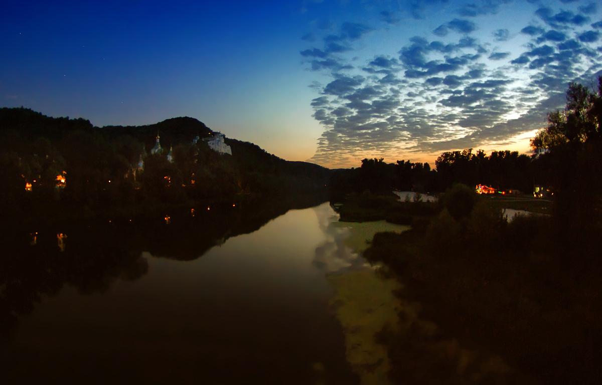 """фото """"Вечерний звон"""" метки: пейзаж, ночь"""