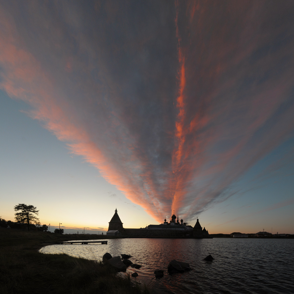 """фото """"небесные пожары..."""" метки: пейзаж, закат"""