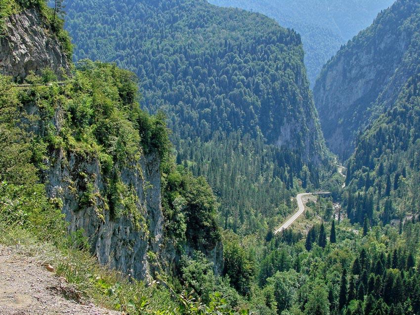 """фото """"Юпшарское ущелье в Абхазии"""" метки: пейзаж, горы"""