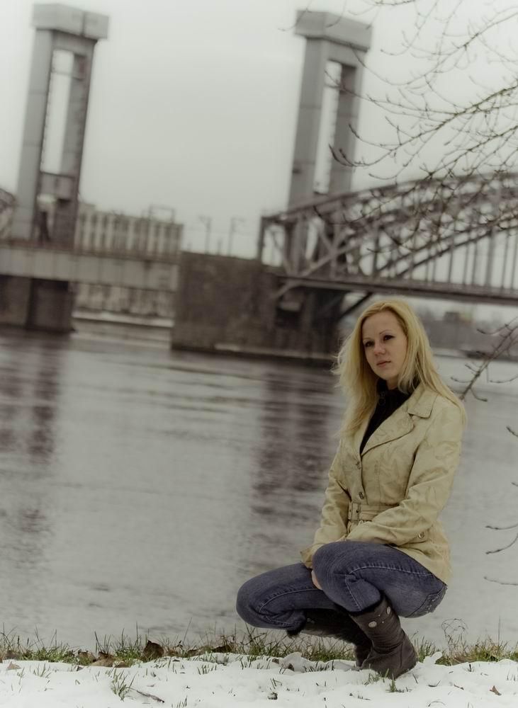 """фото """"зима - начало"""" метки: портрет, женщина"""