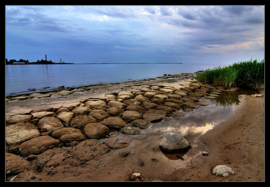 "фото ""Старая дамба"" метки: пейзаж, вода, закат"