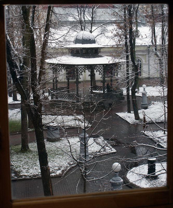 """фото """"Первый снег в Саду Эрмитаж"""" метки: город, архитектура, пейзаж,"""