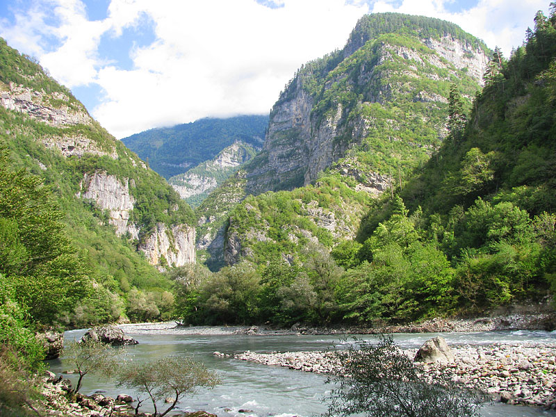 """фото """"Северный Кавказ"""" метки: пейзаж, путешествия, горы"""