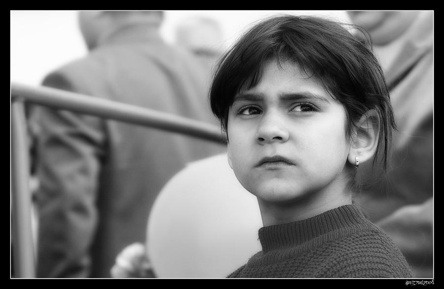 "фото ""Взгляд..."" метки: портрет, черно-белые, дети"