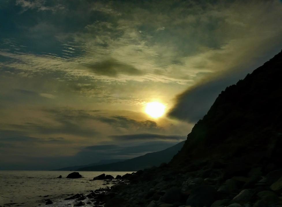 "фото ""Крымский закат"" метки: пейзаж, закат"