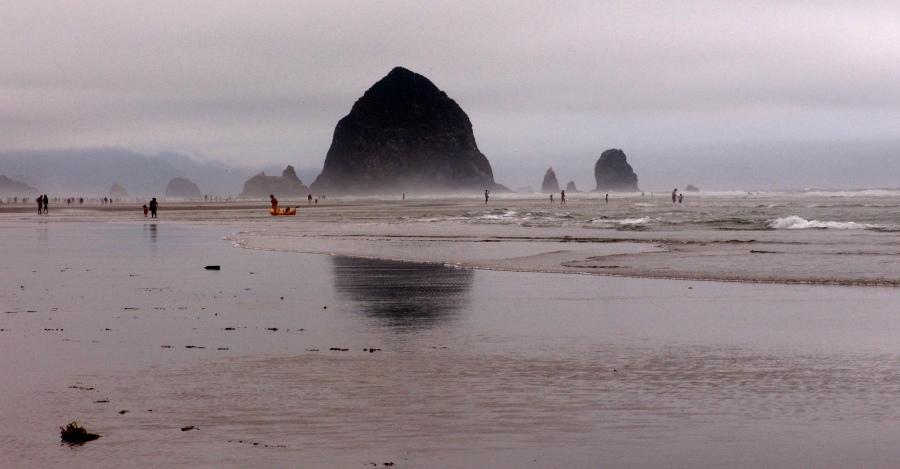 "фото """"Canon Beach"""" метки: пейзаж, вода, осень"