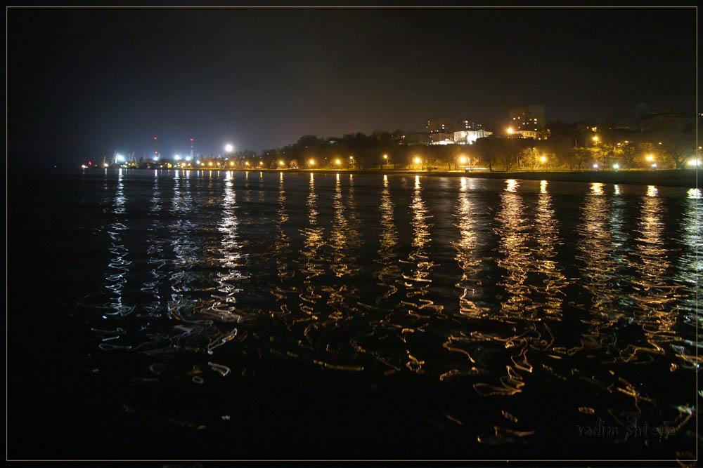 """фото """"приморская ночь..."""" метки: пейзаж, вода"""