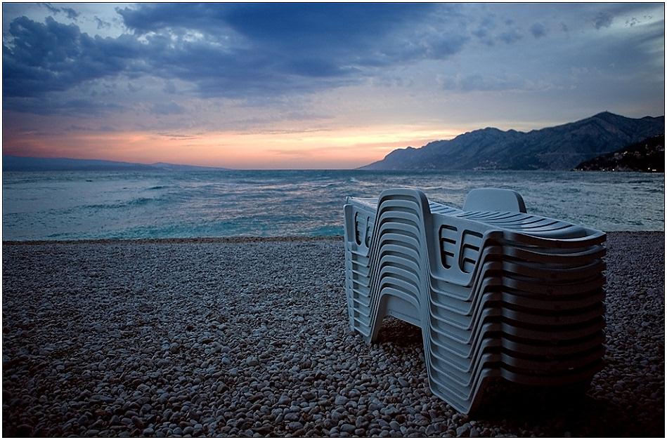 """фото """"До следующего сезона"""" метки: пейзаж, вода, закат"""