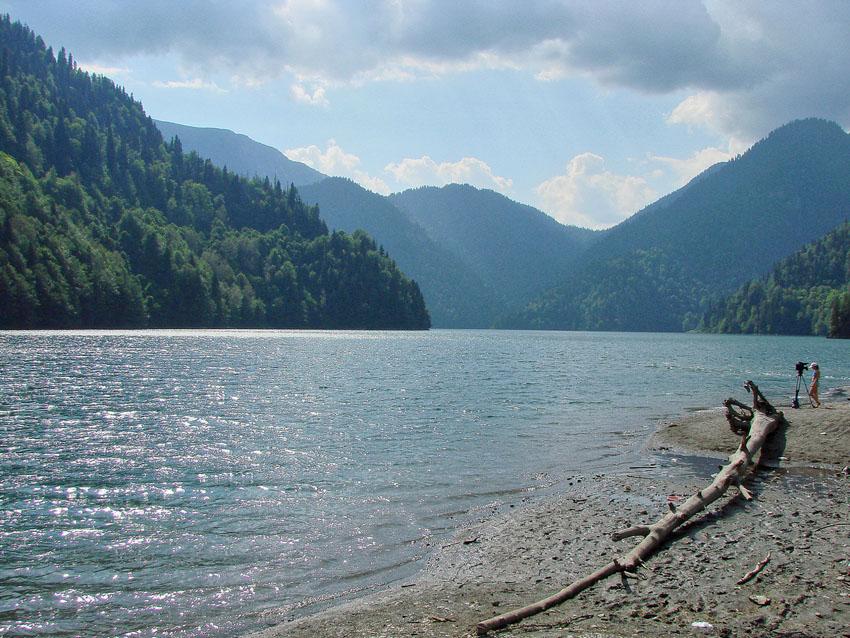 """фото """"Высокогорное озеро РИЦА"""" метки: пейзаж, горы"""
