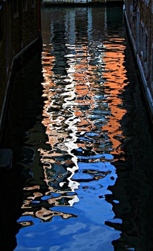 """фото """"reflection in venice #3"""" метки: путешествия, абстракция, Европа"""