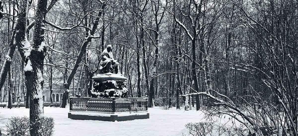"""фото """"""""Летний"""" зимний сад"""""""" метки: пейзаж, панорама, зима"""