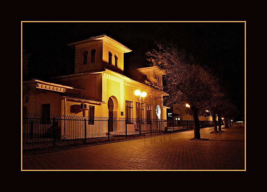 """фото """"Ночное"""" метки: архитектура, пейзаж, ночь"""