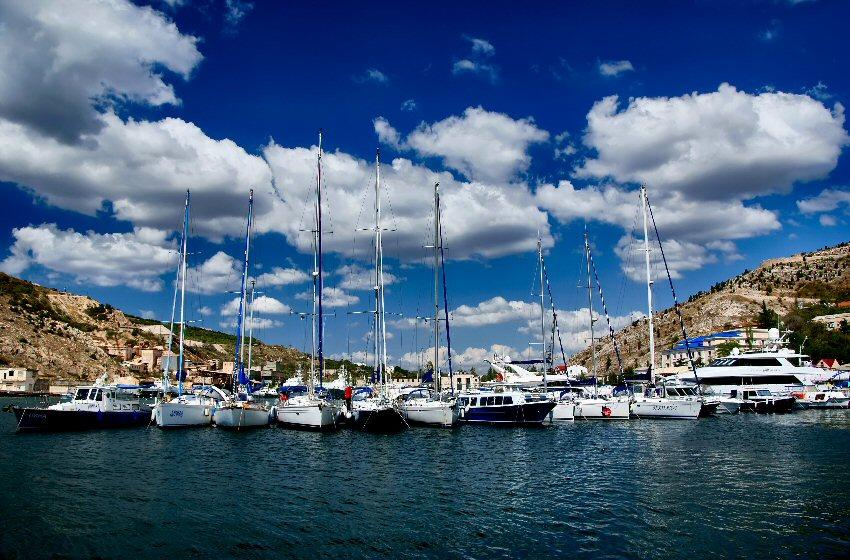 "фото ""В ожидании ветра"" метки: пейзаж, вода, облака"