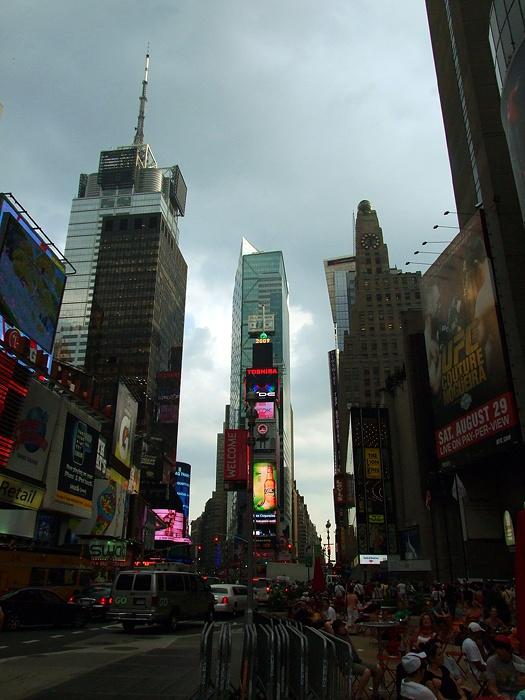 """фото """"На Бродвей опускается вечер."""" метки: путешествия, город, Северная Америка"""