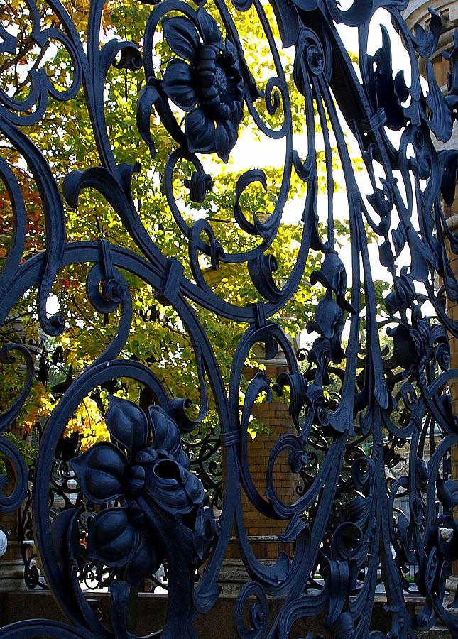 "фото ""Ограда Летнего Сада"" метки: архитектура, путешествия, пейзаж, Европа"