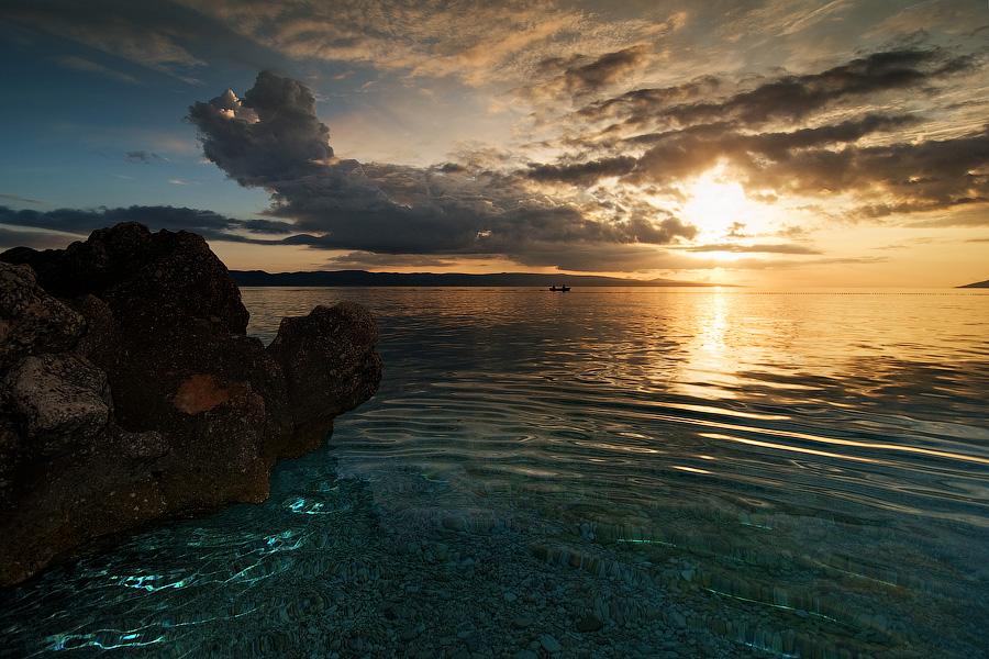 """фото """"Великолепие Адриатики"""" метки: пейзаж, вода, закат"""