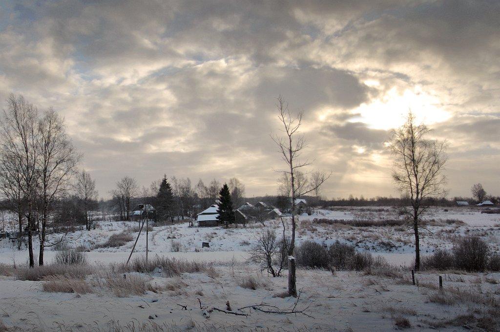 """фото """"Деревенская зима"""" метки: пейзаж, зима"""