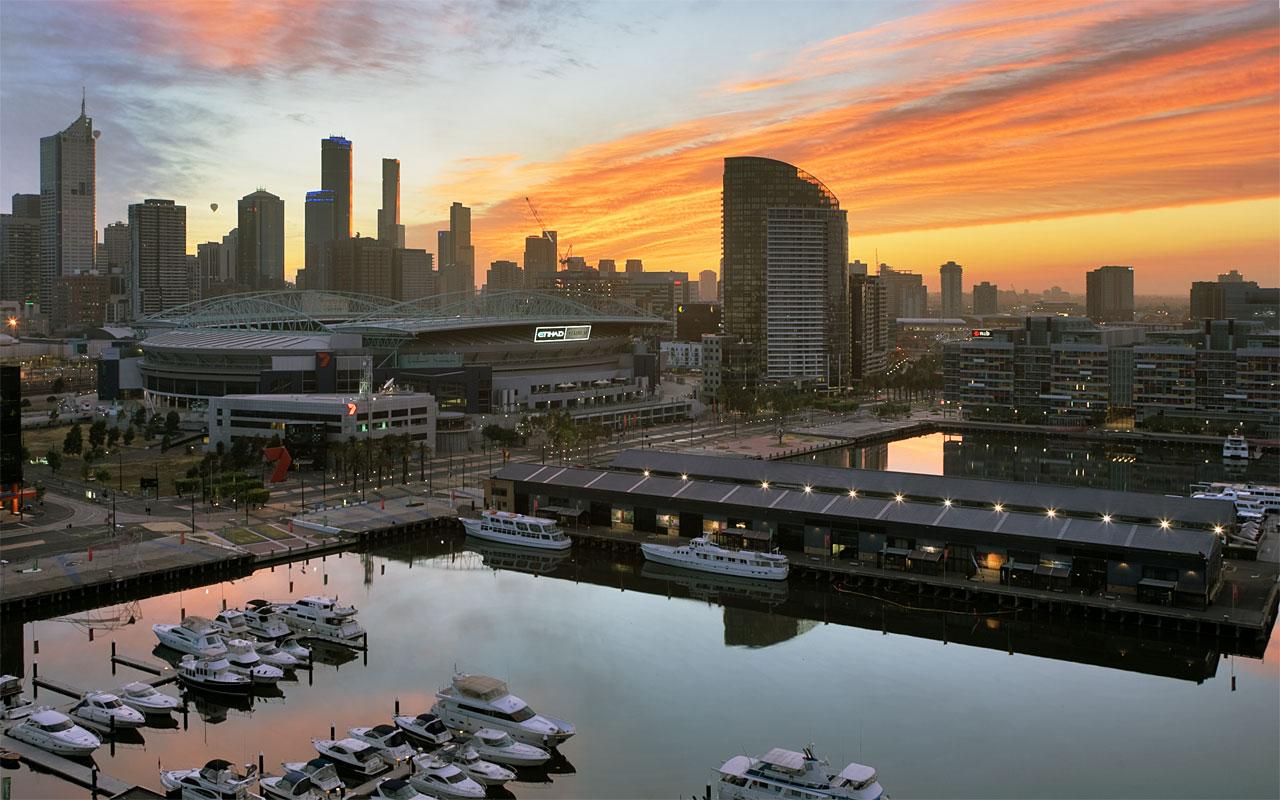 """фото """"Аэростаты"""" метки: пейзаж, путешествия, Австралия, закат"""