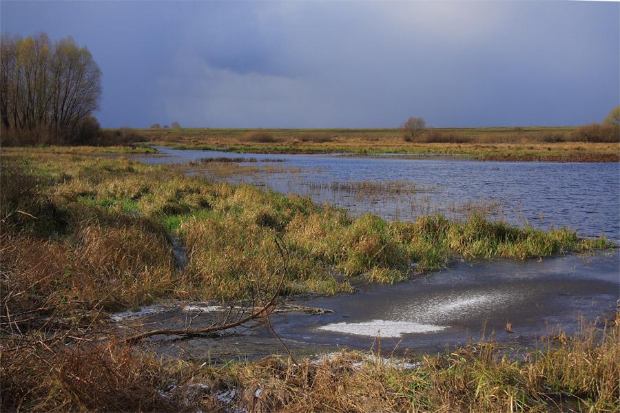 "фото ""Рязанщина"" метки: пейзаж, вода, осень"