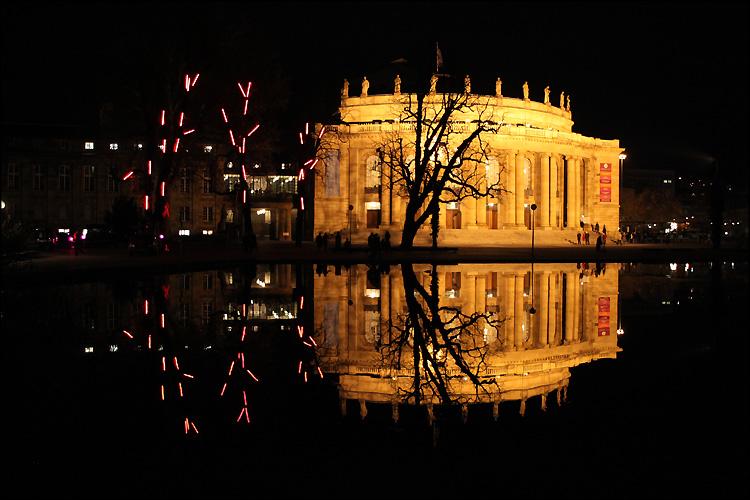 "фото ""Night reflection"" метки: пейзаж, путешествия, Европа, ночь"