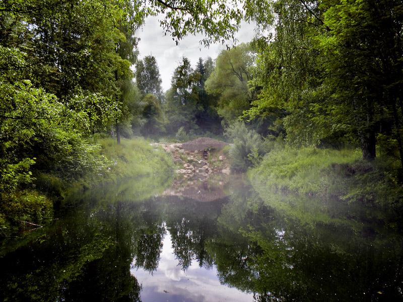 """фото """"В утренней дымке..."""" метки: пейзаж, вода, лето"""